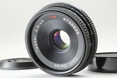 $199.90 • Buy 【 Near MINT 】 CONTAX Carl Zeiss Tessar T* 45mm F/2.8 AEJ Pancake Lens From Japan
