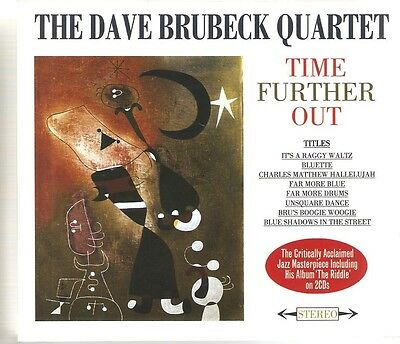 The Dave Brubeck Quartet Time Further Out - 2 Cd Box Set • 5.95£