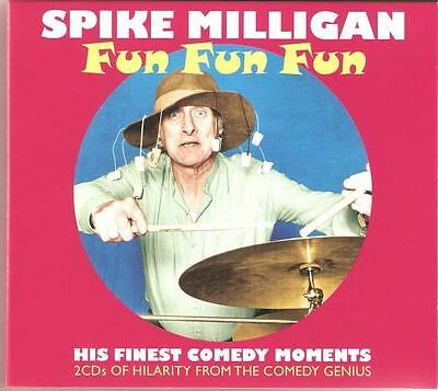 Spike Milligan Fun, Fun, Fun - 2 Cd Box Set - His Finest Comedy Moments • 5.95£