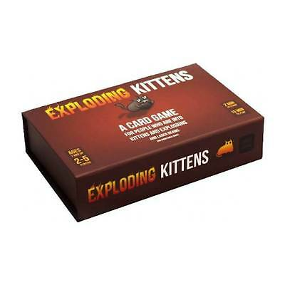 AU64.30 • Buy Exploding Kittens First Edition Meow Box