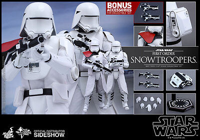 $ CDN463.14 • Buy Hot Toys Star Wars FIRST ORDER SNOWTROOPERS 12  Figure Set 1/6 Scale MMS323