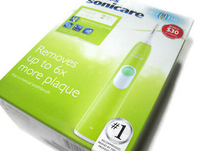 AU68.85 • Buy Philips Sonicare Plaque Control Series 2 Green Rechargeable Electric Tooth Brush