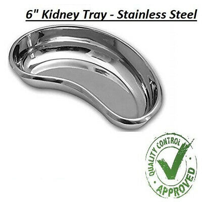 Surgical KIDNEY TRAY DISH BASIN Stainless Steel - 6  KIDNEY TRAY • 3.75£