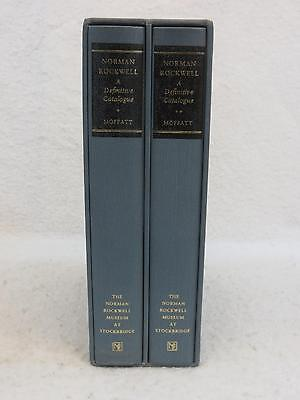 $ CDN313.24 • Buy SIGNED Laurie Norton Moffatt NORMAN ROCKWELL A Definitive Catalogue 2 Vol's 1986