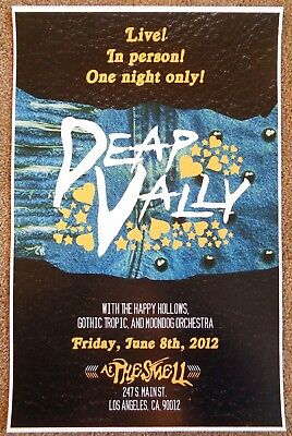 $13.05 • Buy DEAP VALLY 2012 Gig POSTER Los Angeles Concert California
