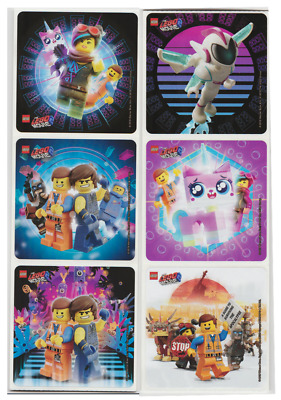 $3.35 • Buy 25 Lego Movie 2 Stickers (Licensed), 2.5 X2.5  Each, Party Favors