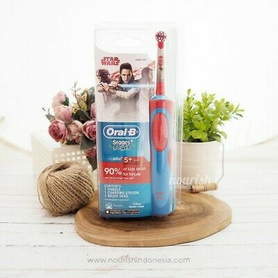 AU32.98 • Buy Oral-B Stages Power Star Wars Toothbrush 5+ Years, With Disney's Magic Timer App