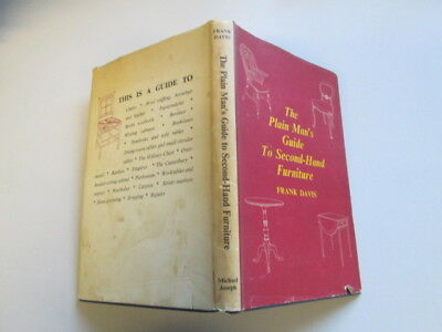 Good - The Plain Man's Guide To Second-hand Furniture - Davis, Frank 1961-01-01  • 4£