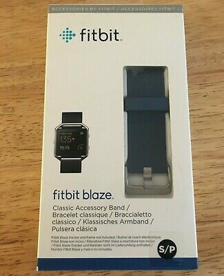 $ CDN12.59 • Buy NEW Fitbit Blaze Replacement Band By FITBIT Small BLUE