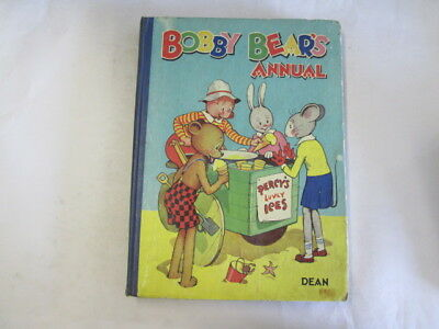 Acceptable - BOBBY BEAR'S ANNUAL - Various  Some Puzzles Have Been Completed. Fo • 12.90£