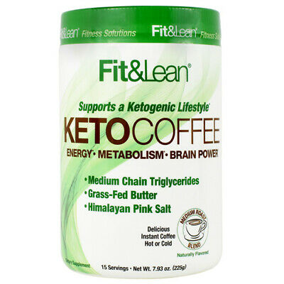 $17.81 • Buy MHP Instant Keto Coffee MCT Brain Power 15 Servings (Hot Or Cold) GET FIT & LEAN