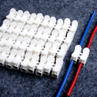 $ CDN2.98 • Buy 30x Electrical Car Cable Connector Quick Splice Lock Wire Terminals Self Locking
