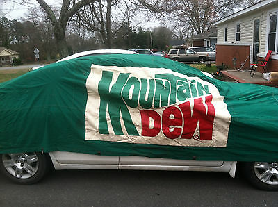 $935 • Buy Darrell Waltrip Vintage Race Used Car Cover Mountain Dew 11 Nascar Waltrip Owned