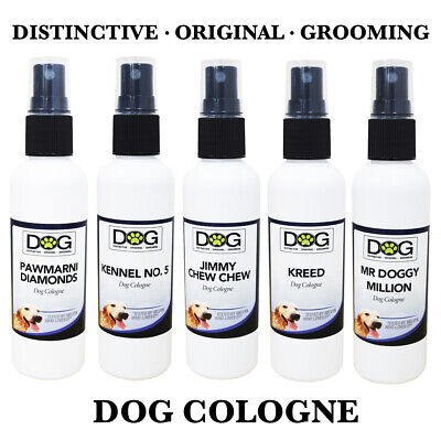 100ml Professional Dog Spray Cologne - Grooming Spray - Deodorant Pet Perfume • 5.99£