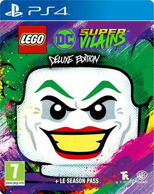 AU67.77 • Buy Ps4 Game Lego Dc Super-Villains Deluxe Steelbook Edition + Season Pass New
