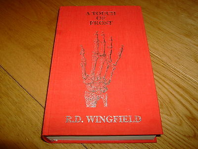 R D Wingfield-a Touch Of Frost-signed Ltd-1st-hb-nf/f-post Mortem-very Rare • 149.99£