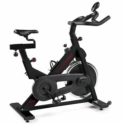 ProForm 400 SPX Stationary Spin Exercise Bike Cardio Workout Indoor Cycle • 399£