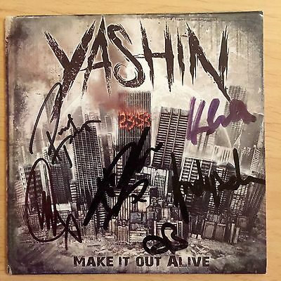 Yashin - Make It Out  Alive Signed Cd Autographed • 16.95£