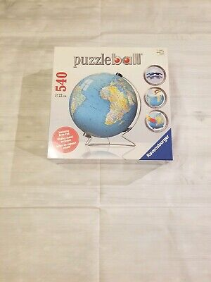 $27.99 • Buy Puzzle Ball Globe 540 Piece Puzzle With Stand Ravensburger New