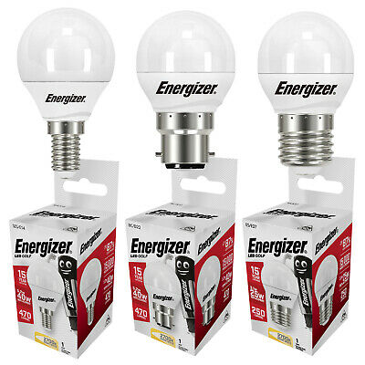 Eveready Halogen Energy Saving Golf Ball Bulbs (20w=25w 33w=40w 48w=60w) • 3.57£