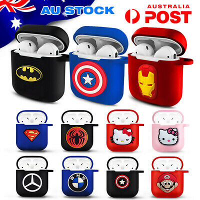 AU6 • Buy AirPods Cases - Silicon Protective Cover With Figures