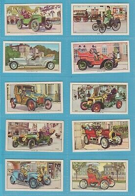 Original Kellogg Cigarette/trade Cards - VETERAN MOTOR CARS - 1962 Full Set  • 7.50£