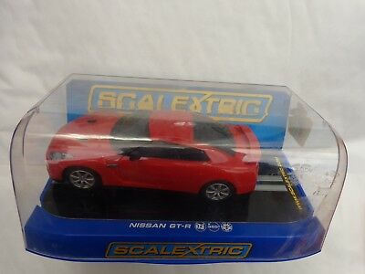 Hornby Scalextric Sport - Red Nissan Gt-r Car Boxed C2990 • 19.99£