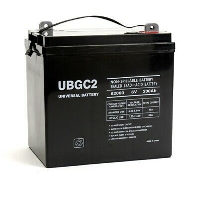 6 volt golf cart battery
