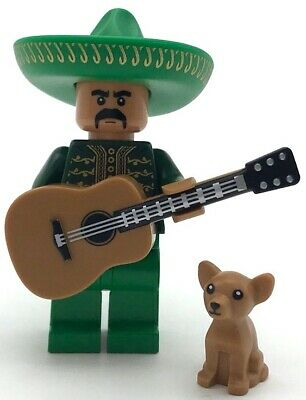 $ CDN17.22 • Buy Lego New Mariachi Mexican Musician With Dog And Acoustic Guitar Figs