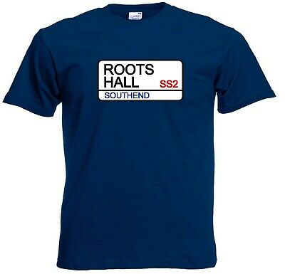 Southend United FC Roots Hall Street Sign Football Club T-Shirt  • 9.99£