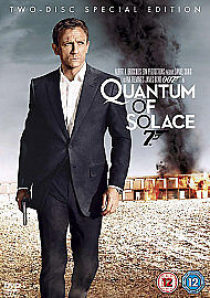 Quantum Of Solace (DVD, 2009, 2-Disc Set, Box Set) Daniel Craig Brand New Sealed • 3.99£