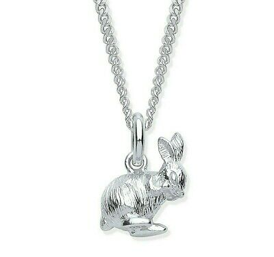 £12.95 • Buy Sterling Silver Bunny Rabbit Pendant / Necklace - Choice Of Chain