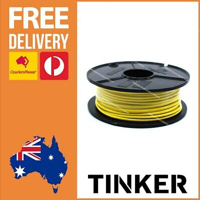AU34.98 • Buy 4mm Single Core Cable Yellow 30m Roll Automotive Caravan Wire Aussie Made 28 Amp