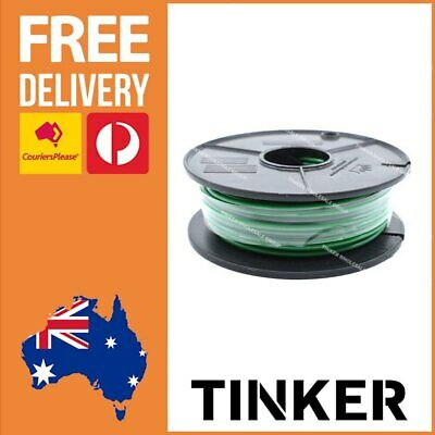 AU36.82 • Buy 4mm Single Core Cable Green 30m Roll Automotive Caravan Wire Aussie Made 28 Amp