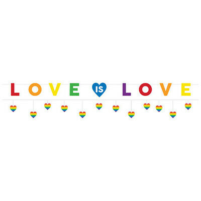 WEDDING AND BRIDAL Love Is Love DELUXE BANNER KIT ~ Party Supplies Decoration • 6.51£