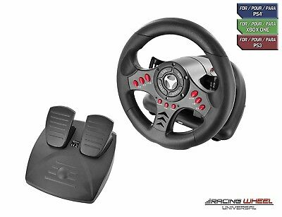 Xbox One Racing Steering Wheel Controller Pedal Driving Like Real For Game • 109.08$