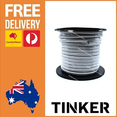 AU119.98 • Buy 6mm Twin Core Wire 30m Roll Tinned Marine Cable 38 Amp Tinned Wire Aussie Made