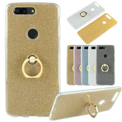 AU5.86 • Buy For OnePlus 6T 6 5T Stand Ring Holder Bling Glitter Soft TPU Silicone Case Cover