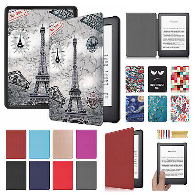 AU22.99 • Buy New S/Wake Smart Leather Flip Case Cover For Amazon Kindle 10th 6''Inch Gen 2019