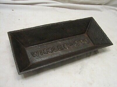 Wissler - 000 Pig Chicken Cast Iron Feed Trough Feeder Lancaster PA Farm Country • 102.67£