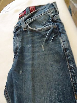 8e5312dab78 Aeropostale Vintage Boot Cut Ladies Jeans-size 28/30-distressed-5 Pockets