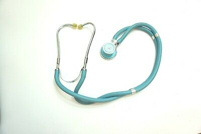 $23.99 • Buy Vintage Stethoscope Light Blue With Unique Double Tube - Nice Condition For Age