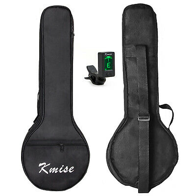 AU20.99 • Buy Kmise Banjo Ukulele Ukelele Bag Soft Case Concert 23 Inch Black And Tuner