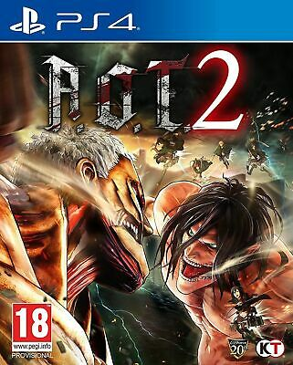 AU41.95 • Buy Attack On Titan 2 (A.O.T) Wings Of Freedom PS4 Playstation 4 Brand New Sealed