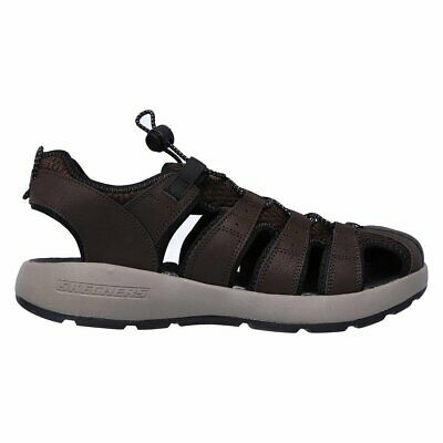 Sandals Melbo Journeyman 2 Skechers Brown Men • 50.63£