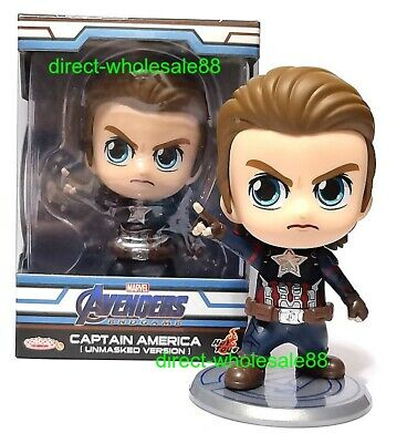 $ CDN37.07 • Buy Hot Toys Avengers Endgame Captain America Unmasked Version Cosbaby COSB555