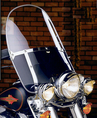 $256.45 • Buy Yamaha Xv750 Virago 1988-98 Nc Beaded Black Heavy Duty Windshield N2233 - Nib