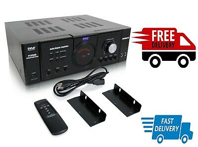 £141.93 • Buy 4 Channel Home Audio Power Amplifier Surround Sound Stereo Receiver System Music