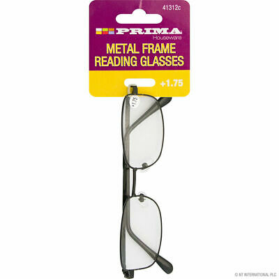 1 XPRIMA Reading Glasses With Designer Metal Frame Strength • 2.30£