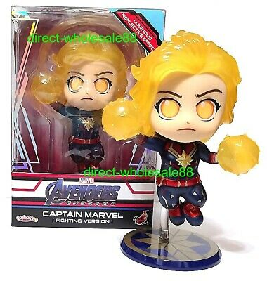 $ CDN47.61 • Buy Hot Toys Avengers Captain Marvel Version Cosbaby COSB591